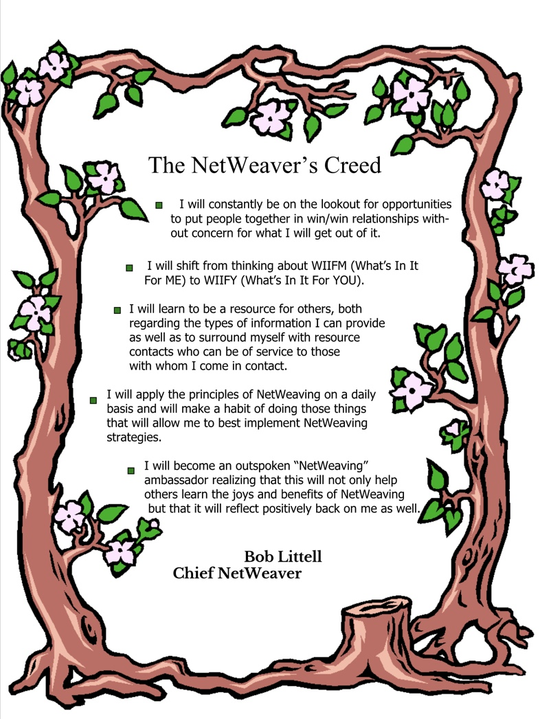 netweaving creed